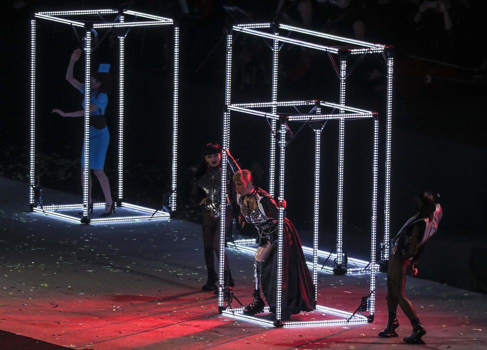 Ceremonia de clausura de los Juegos Paralímpicos de Río.