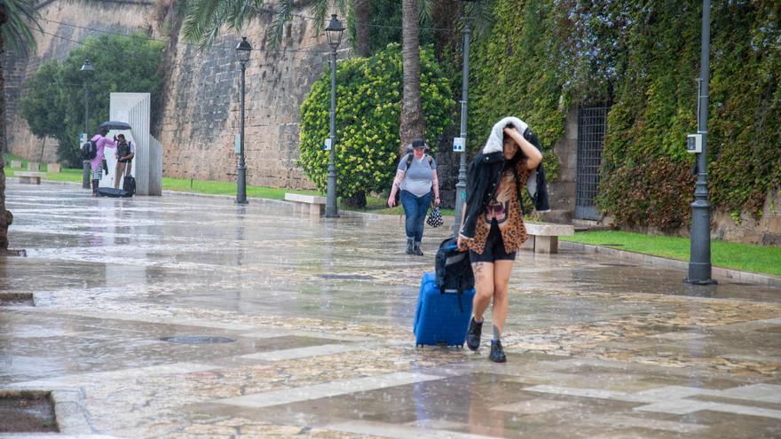 Las tormentas dejan hasta 60.1 l/m² en media hora en Capdepera