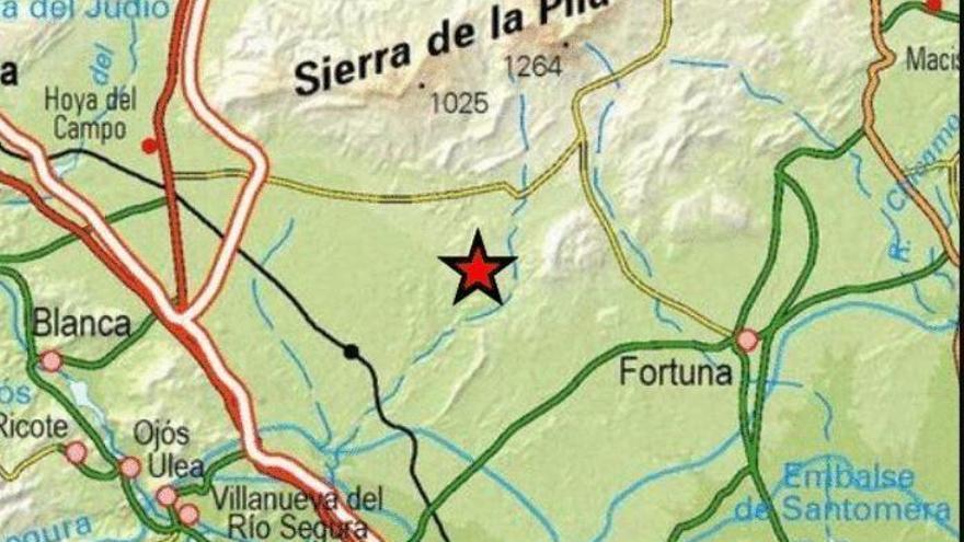 La tierra vuelve a temblar en la Región: terremoto de 2,5 en Fortuna