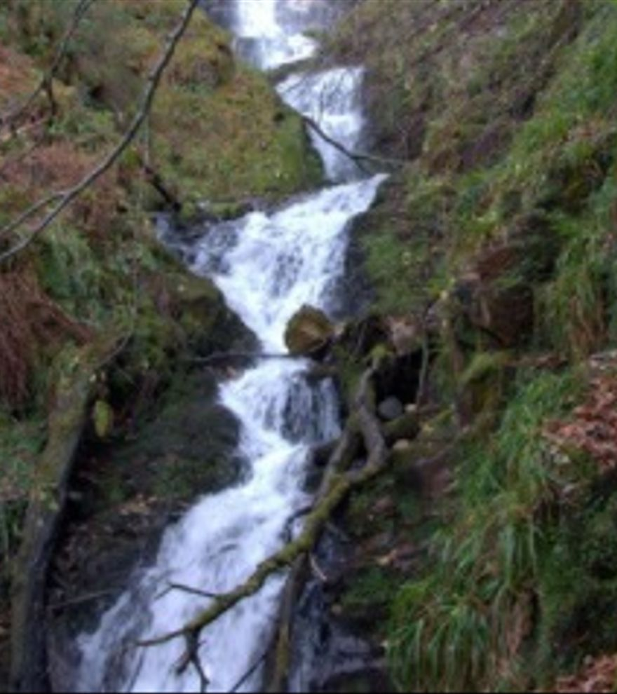 Las cascadas de Xilbu y Cuevas
