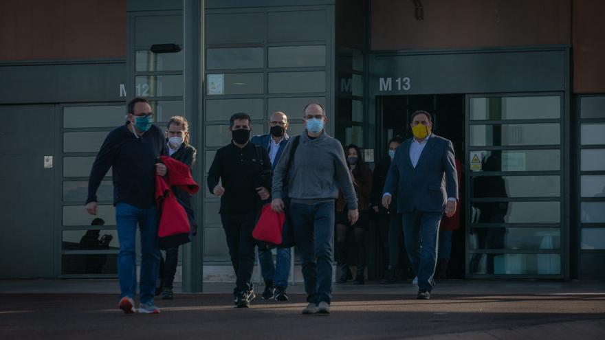 La Fiscalía pide al TS anular la semilibertad de los presos del 1-O en Lledoners