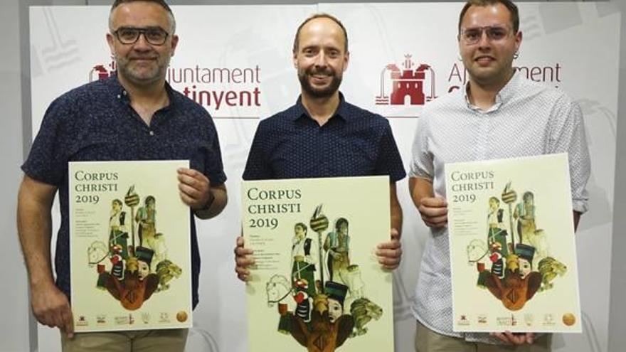 Presentado el cartel oficial del Corpus de Ontinyent obra del ilustrador Abel Gómez