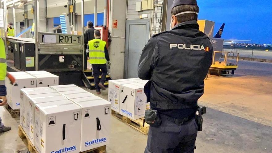 Llegan más de 125.000 dosis de Pfizer a la Comunitat Valenciana