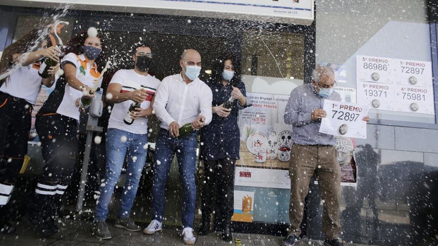 Lotería | Gasolinera de la Chasnera, en Granadilla