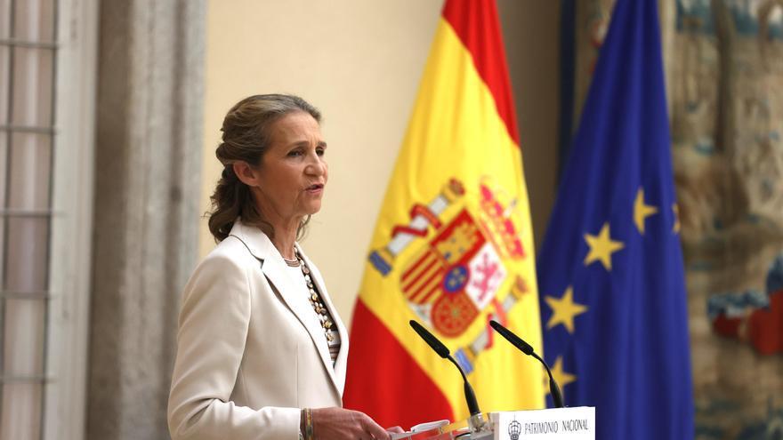 Reaparición de la Infanta Elena en un acto oficial de la Casa Real