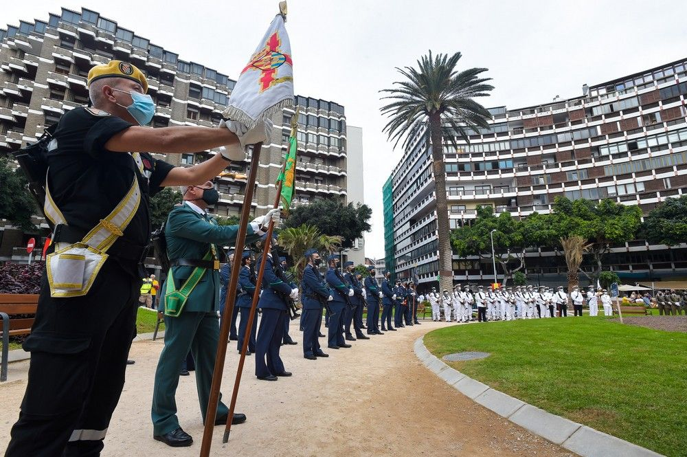 Acto militar con motivo del 12 de Octubre, Día de la Fiesta Nacional