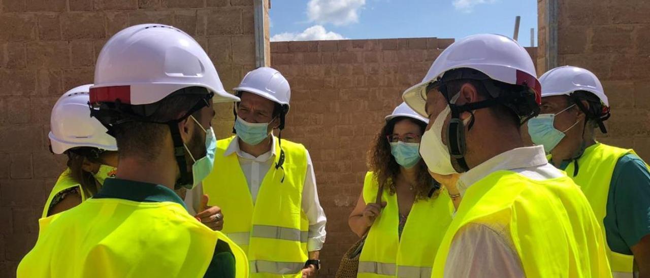 Visita a las VPO que construye el Ibavi.