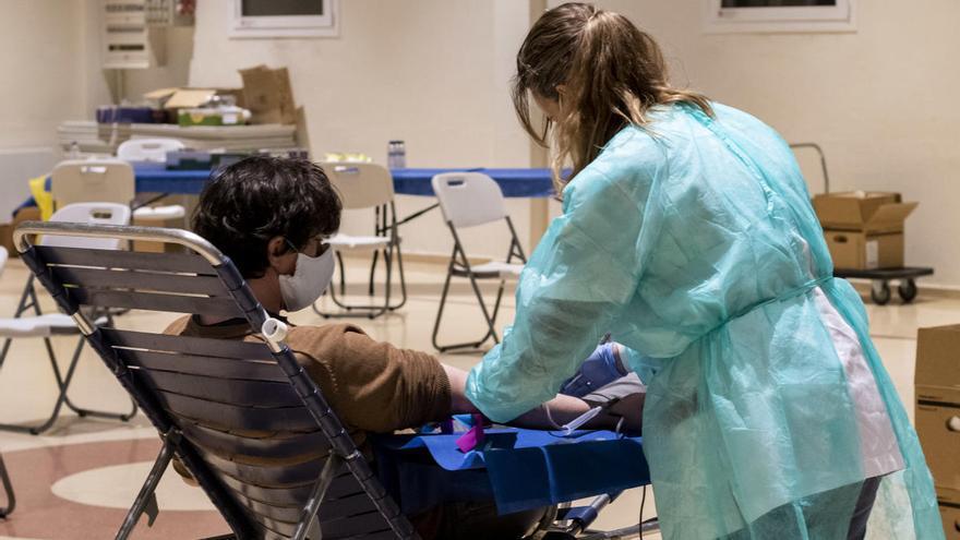 Donar sang, un bon gest solidari per al mes d'abril