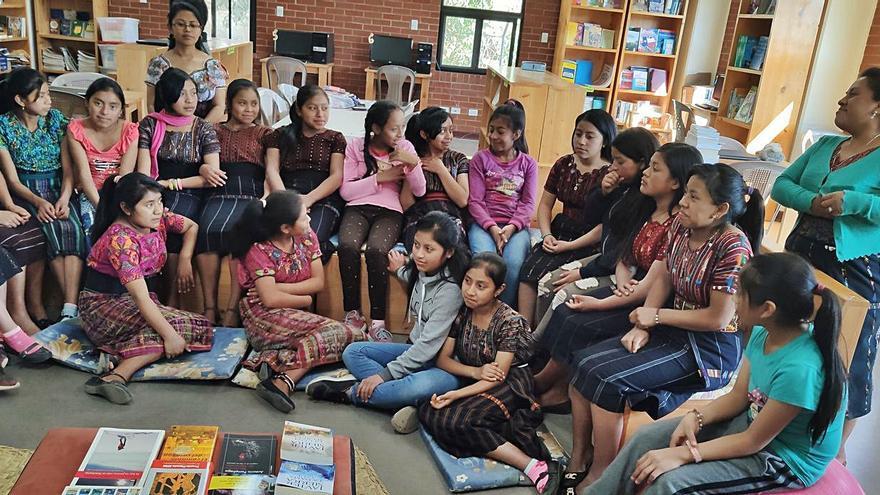 Viajar a través de los libros desde Guatemala
