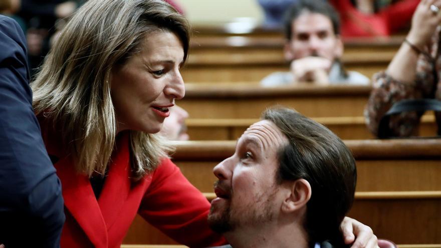 El Gobierno, tocado por los roces internos, se enfrenta a una nueva etapa con la salida de Iglesias