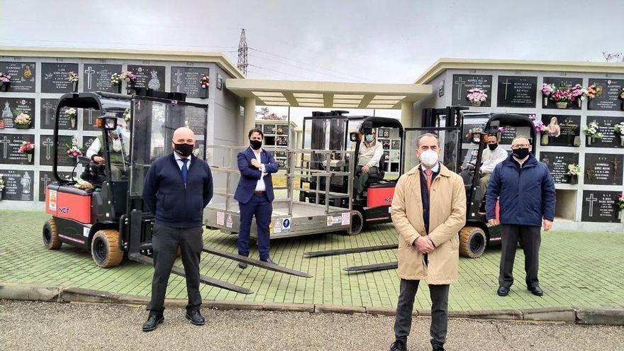 Cecosam invierte 142.000 euros en una nueva maquinaria más moderna, sostenible y segura