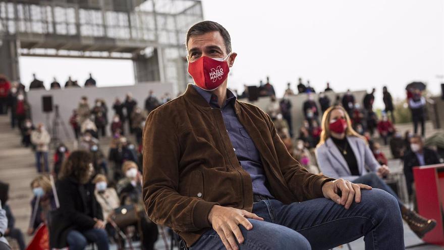 """Sánchez califica a Vox como """"una amenaza para la democracia"""""""