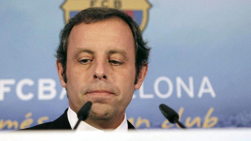 Presó sense fiança per a Sandro Rosell per blanqueig de capitals