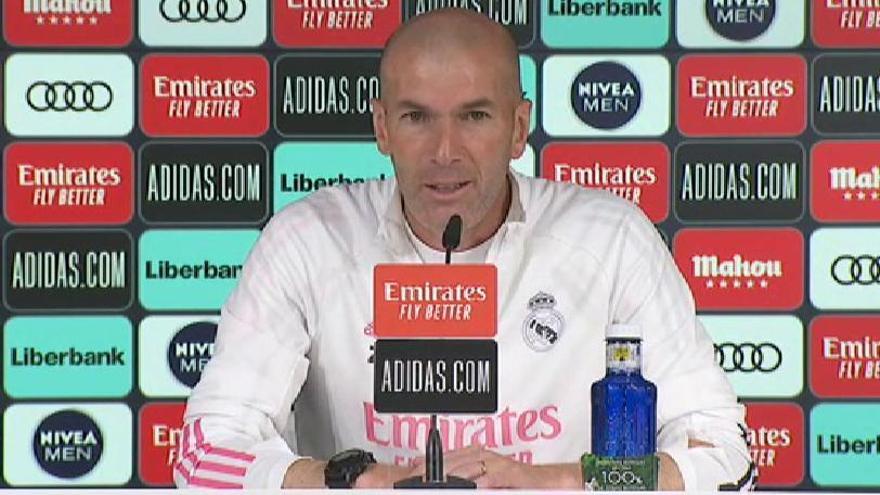 """Zidane: """"Hay momentos en los que te tienes que ir"""""""
