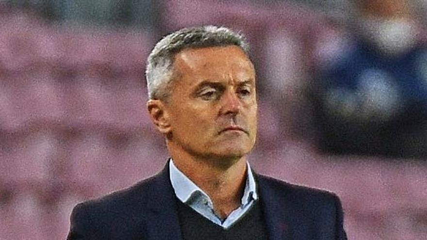Fran Escribá: «Estoy decepcionado con el 3-0, no con el equipo»