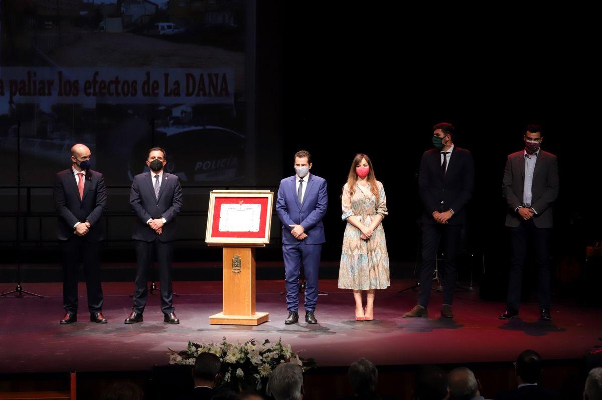 Entrega de distinciones del municipio de Murcia