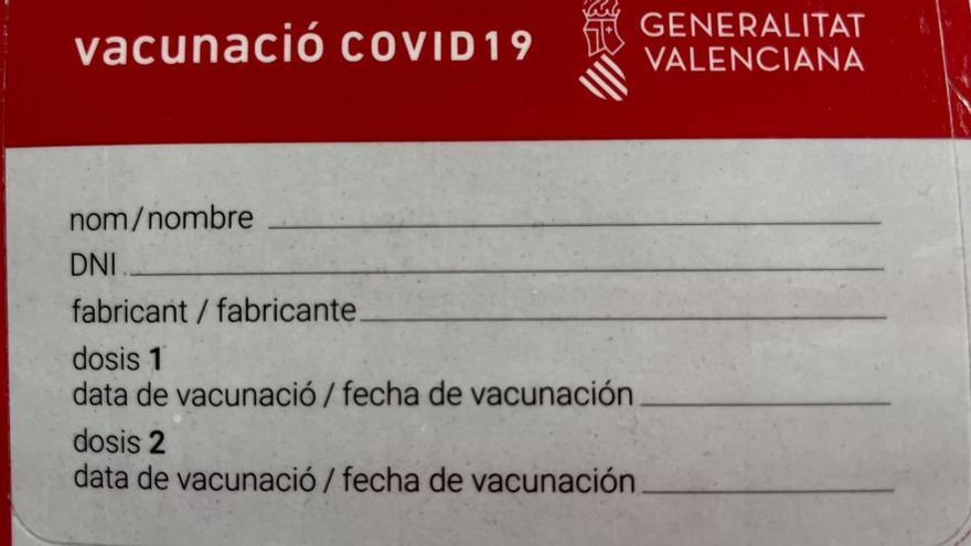 Carnet de vacunación: así es y para qué sirve