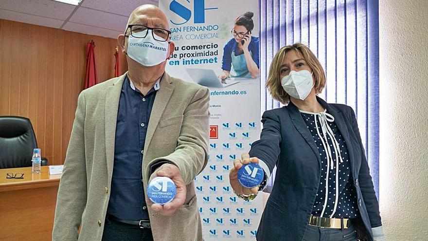 San Fernando se suma al comercio online