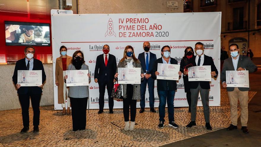 Lácteas Cobreros se lleva el premio a la mejor pyme del año en Zamora