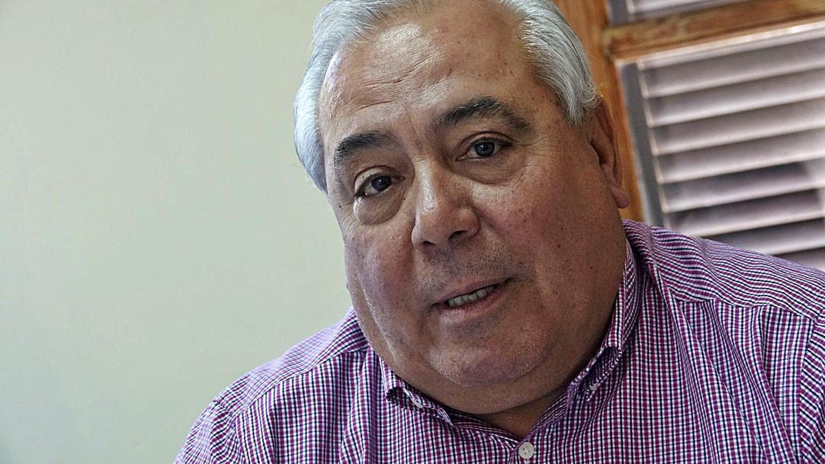 Luciano Marrero Chano, portavoz de CC en Vilaflor. | | E.D.