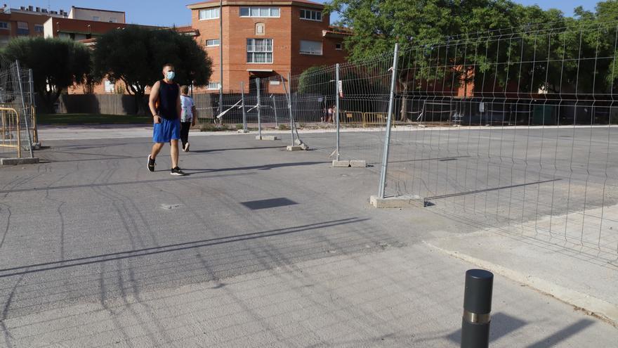 El espacio liberado por el soterramiento en Murcia será un bulevar peatonal en semanas
