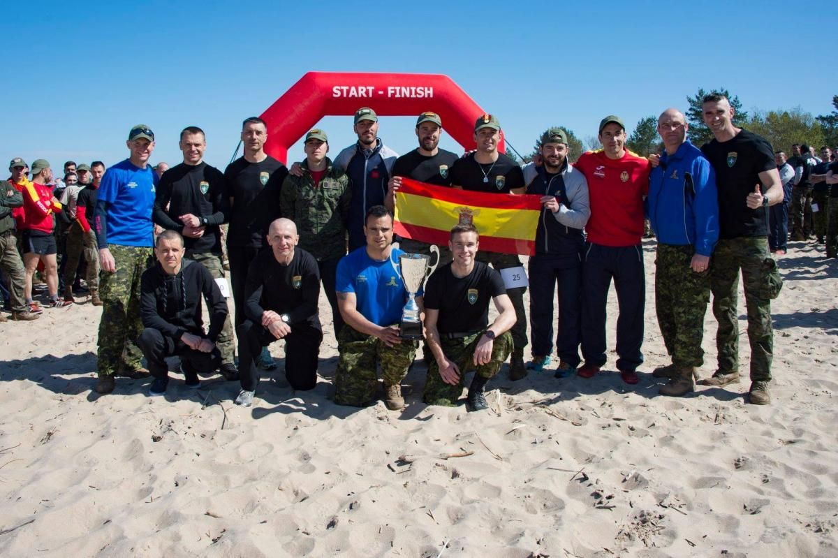 Misión en Letonia / Baltic Warrior 2018