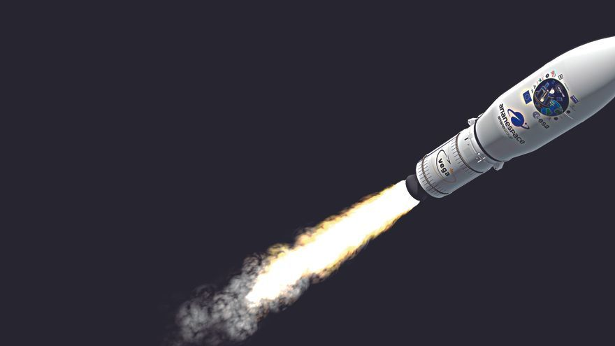 Elche en la órbita espacial