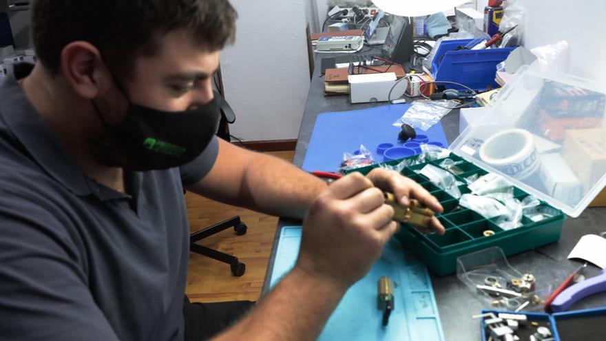 Un negocio al alza: La pandemia abre puertas a los cerrajeros