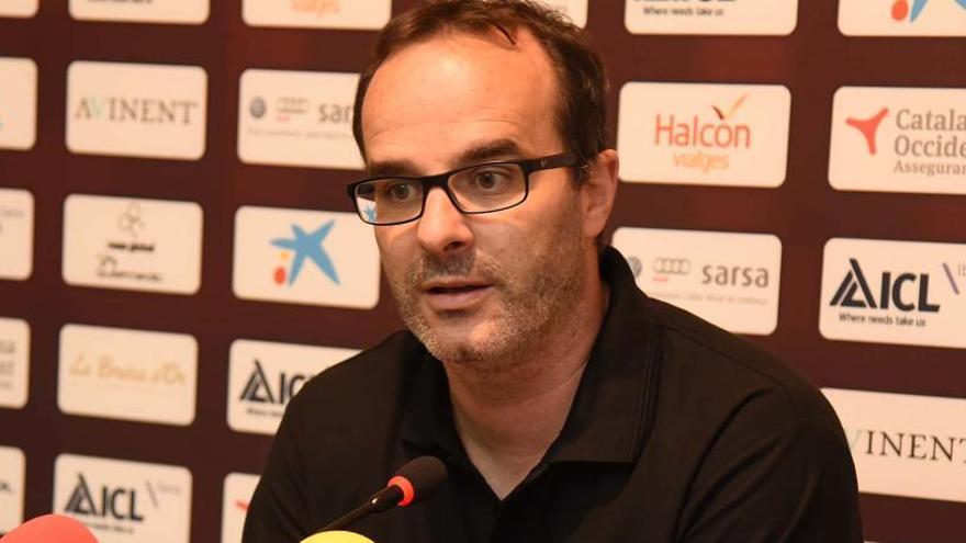 Ocampo: «Ara no hi ha cansament, hi ha ganes de guanyar»
