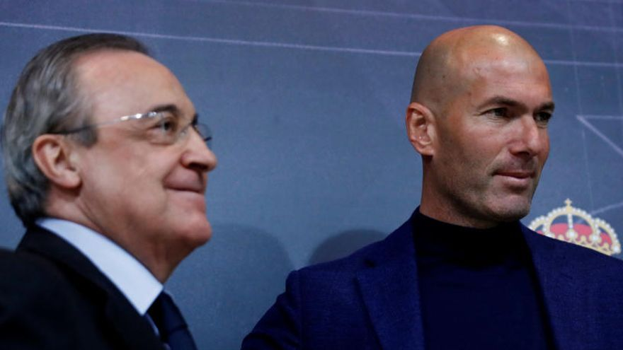 Zidane torna al Madrid com a substitut de Solari