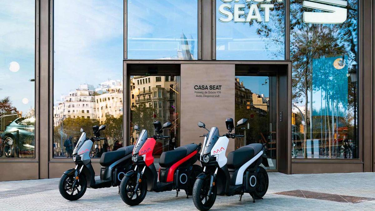 Los nuevos modelos de la gama Seat Mó eScooter 125