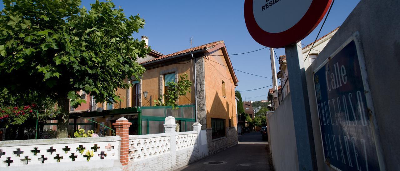 Una calle de Salinas.