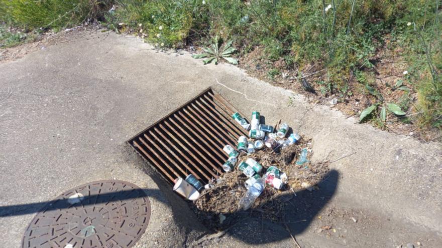 """Llamamiento al """"civismo"""" en Benavente ante la basura arrojada por las calles de la ciudad"""