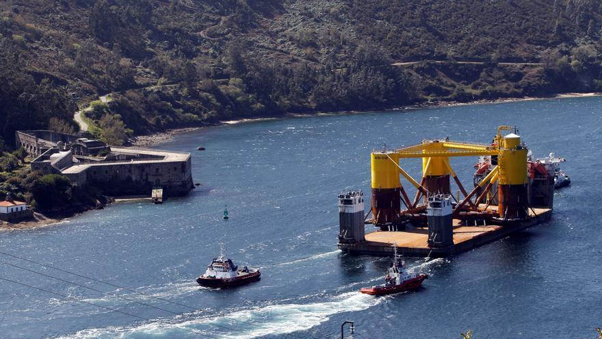 Windar culmina el encargo de plataformas para el mayor parque eólico marino flotante