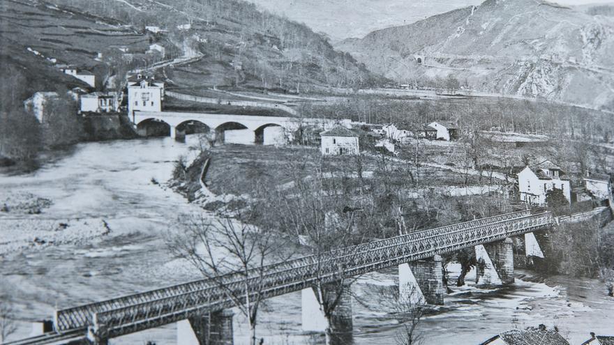 Así era Trubia: las imágenes que repasan 135 años de historia local