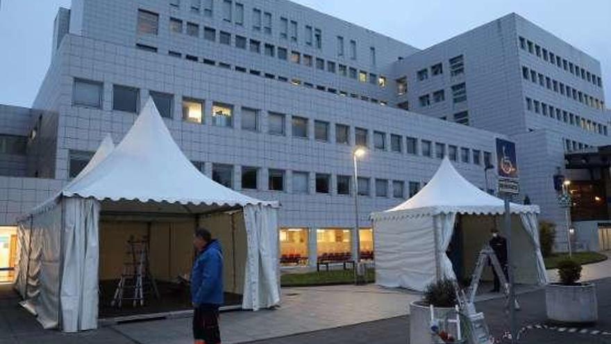 Mieres y Avilés, los dos hospitales asturianos que ya están llenos y rozan el colapso
