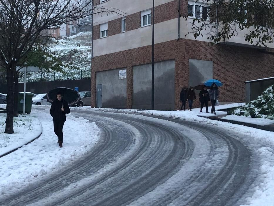 Segundo día de temporal en Asturias
