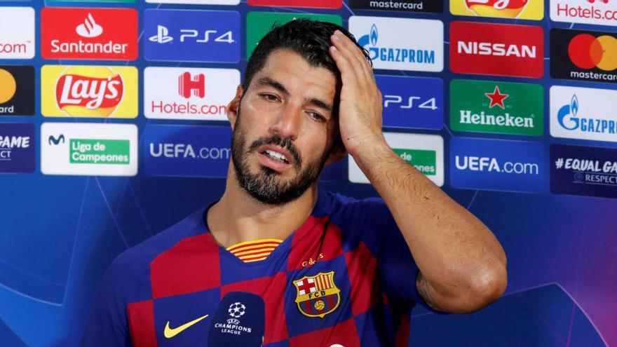El Barça pone trabas de última hora a la salida de Luis Suárez