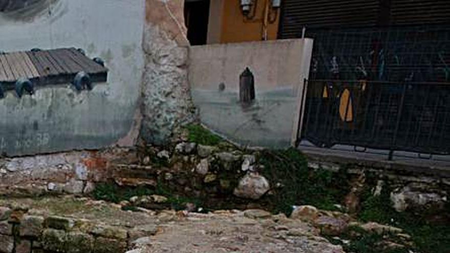 El Ayuntamiento de Zamora dejará a la vista el cubo de muralla de su parte trasera