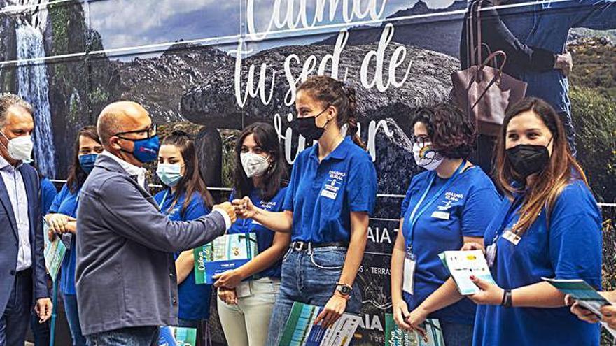 Un autobús promocionará el turismo en el territorio Ourense-Norte de Portugal