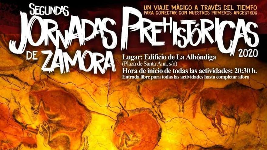 Programa completo de las Segundas Jornadas Prehistóricas de Zamora