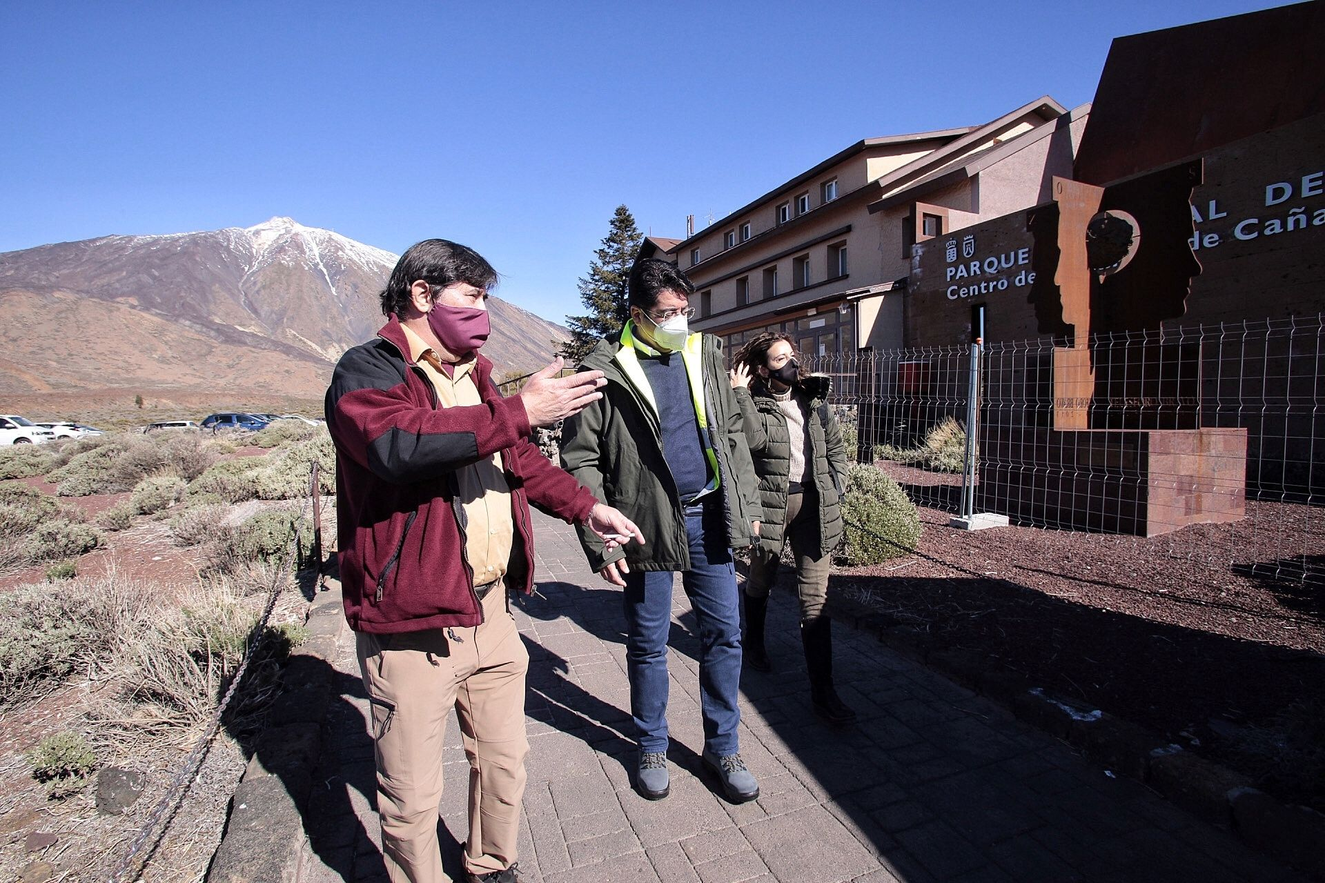 Recorrido por el antiguo sanatorio del Teide