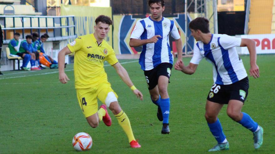 El Villarreal C remonta y suma los tres puntos ante el Hércules B