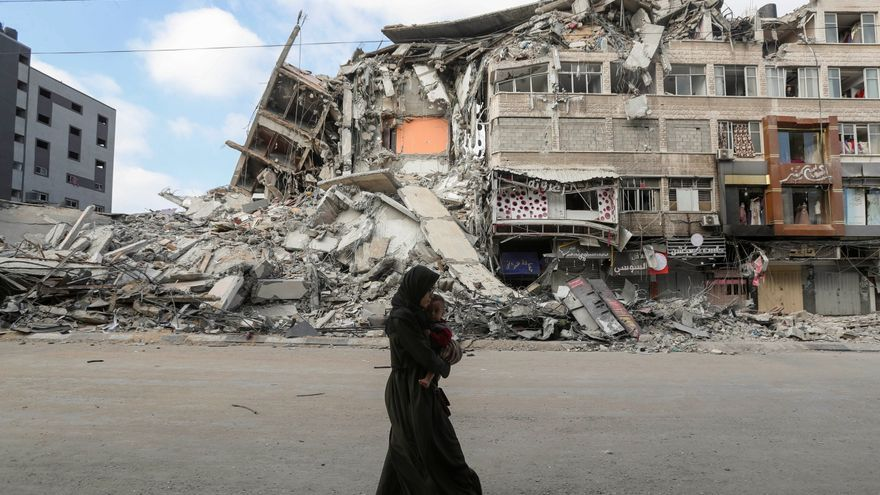 La escalada militar entre Israel y Gaza se cobra la vida de más de un centenar de palestinos