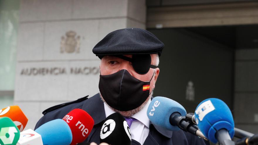 """Villarejo, tras declarar ante el juez: """"Voy a desenmascarar a todos"""""""