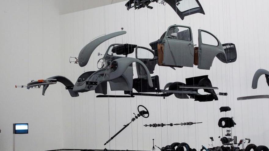 El Guggenheim explora relación arte-espacio a través de Chillida y Heidegger