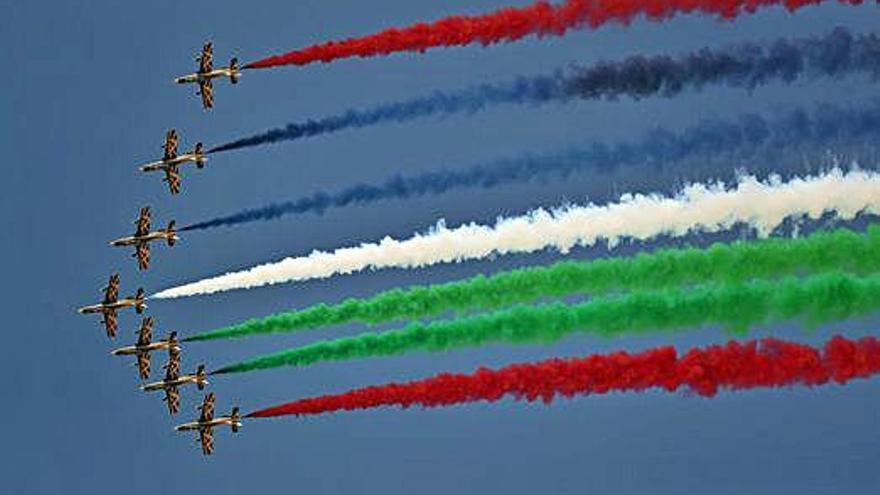 Dubai celebra el saló aeroespacial més luxós del món