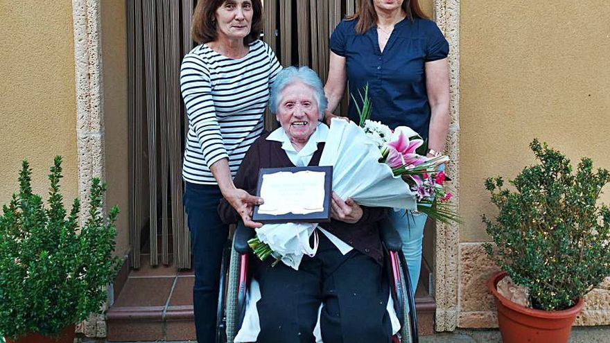 Nueva centenaria en Quintanilla del Monte