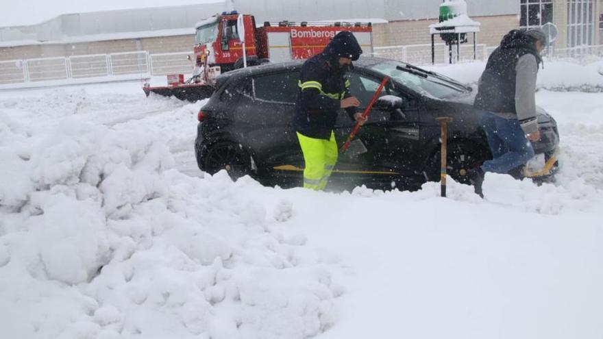 La segunda nevada más copiosa del siglo en Alicante, tras la de 2017
