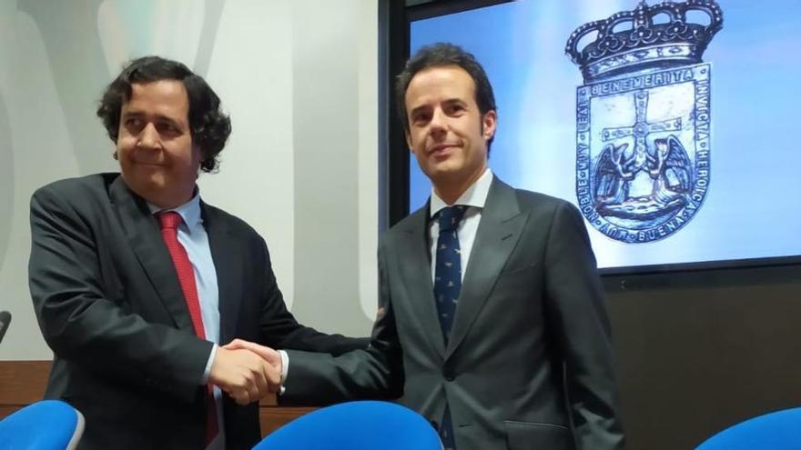 Oviedo rescinde el contrato del bulevar de Santullano que encargó el tripartito